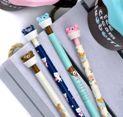 Kawaii Cupcake Bear Mechanical Pencil