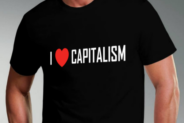 I Heart Capitalism Short Sleeve T-Shirt