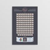 Guitar Chord Poster || Key of B Flat