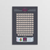 Guitar Chord Poster || Key of G Flat