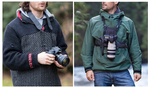 camera chest harnesses, camera chest harness