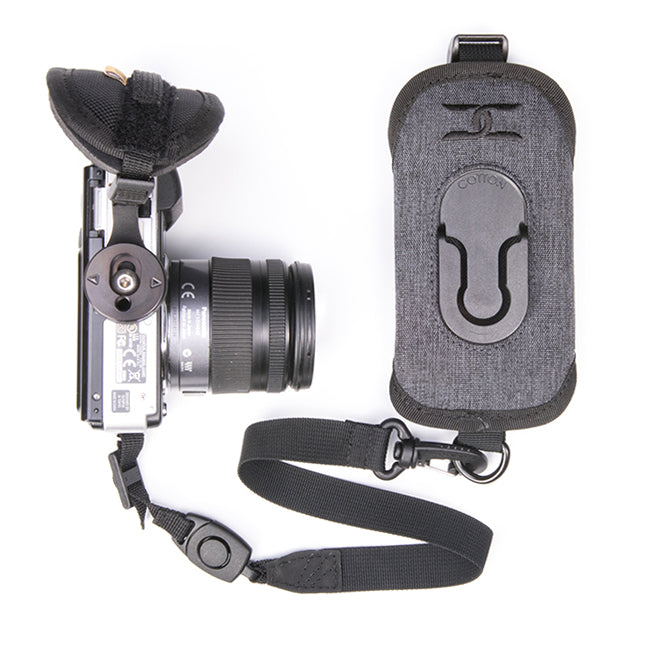 Cotton Carrier Charcoal Grey G3 Strapshot Camera Holster