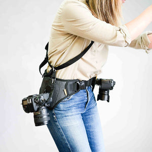 NEW SlingBelt Carrying System for 2 Cameras