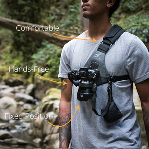 Grey Skout  - For Camera - Sling Style Harness