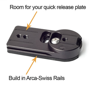 Go Straight To Quick Release using our Adapter Plate