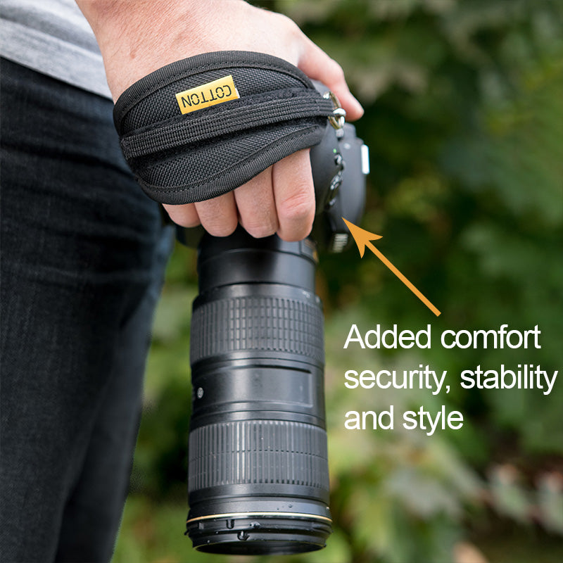 Get Handstrap for a better grip (No Hardware)