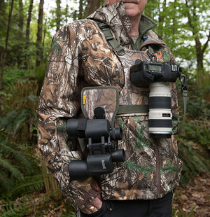 Cotton Carrier REALTREE Camo Camera & Binocular Camera Harness