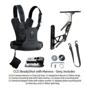 Cotton Carrier G3 Steadyshot With Camera Harness