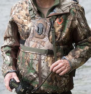 Cotton Carrier Realtree Camo Camera Harness - 1