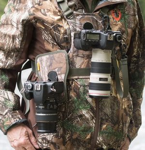 Cotton Carrier Realtree Camo Camera Harness - 2