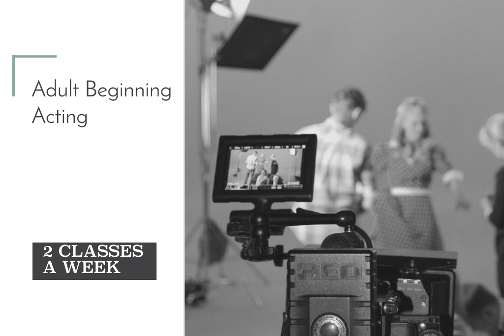 2 Days/Week of Adult Beginning Acting | Winter Session 2019 | 12 Weeks