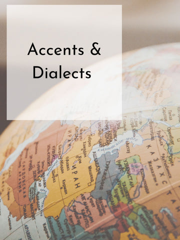 Accents and Dialects | Fall 20 | Saturdays, 8 Weeks