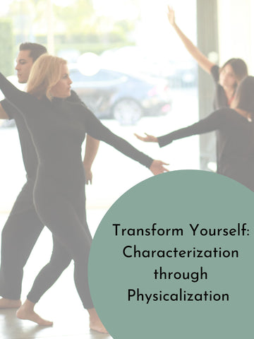 Industry Workshops | Transform Yourself: Characterization Through Physicalization | Sunday, November 24th
