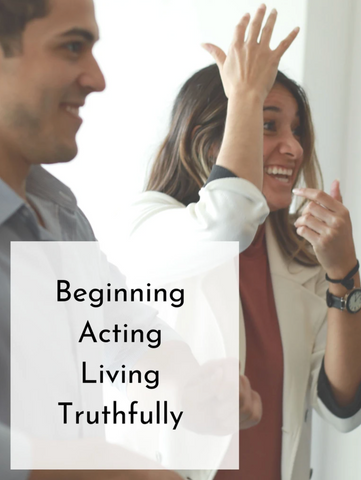 Beginning Acting: Living Truthfully | Fall 20 | Saturdays, 10 Weeks
