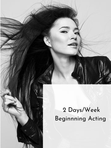 2 Days/Week of Adult Beginning Acting | Summer 20