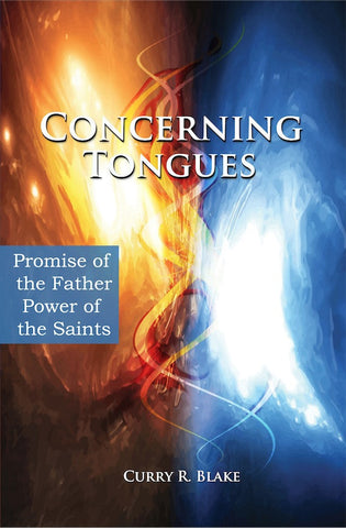 Concerning Tongues By Curry Blake (Book)