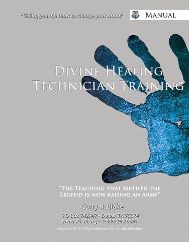 Divine Healing Technicians Training      (Multiple Language Download) Please select appropriate language in Media Type