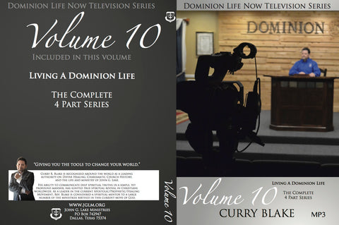 Dominion Life Now TV Program MP3 Disc Vol. 10