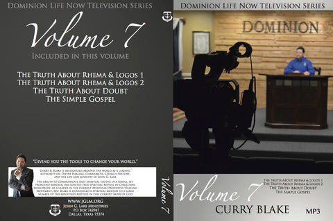 Dominion Life Now TV Program MP3 Disc Vol. 7