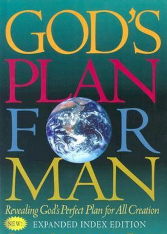 God's Plan For Man (Book) - Slightly Imperfect