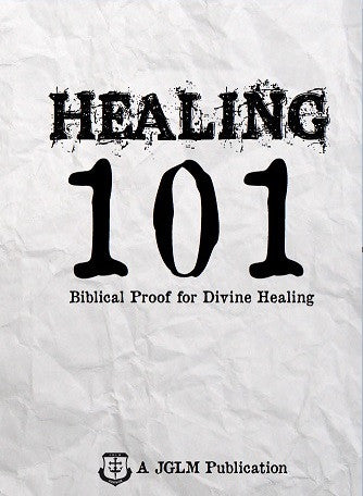 Healing 101 By Curry Blake (Booklet)