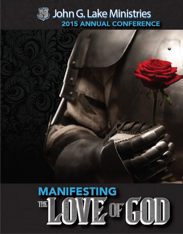 Manifesting The Love of God MP3's (Physical Disc)