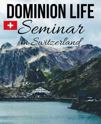 Dominion Life Seminar Switzerland (DVD & MP3)
