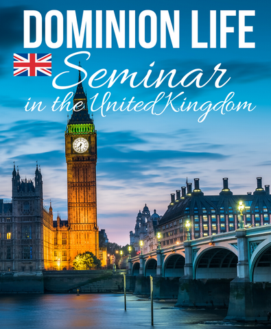 Dominion Life Seminar UK (MP3 Disc)