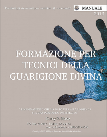 Divine Healing Technician Training Manual (Italian PDF Download)