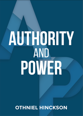 Authority and Power by Othniel Hinckson (Physical MP3 Disc)