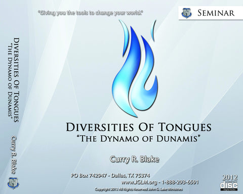 Diversities of Tongues MP3's (Physical Disc)