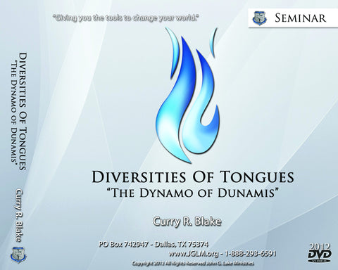 Diversities Of Tongues (DVDs)