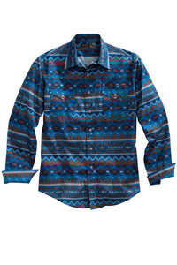 MENS LONG SLEEVE WESTERN SNAP SHIRT