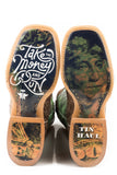 MENS DEUCE WITH TAKE THE MONEY AND RUN SOLE