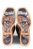 WOMENS WILD THING WITH CHEETAH SOLE