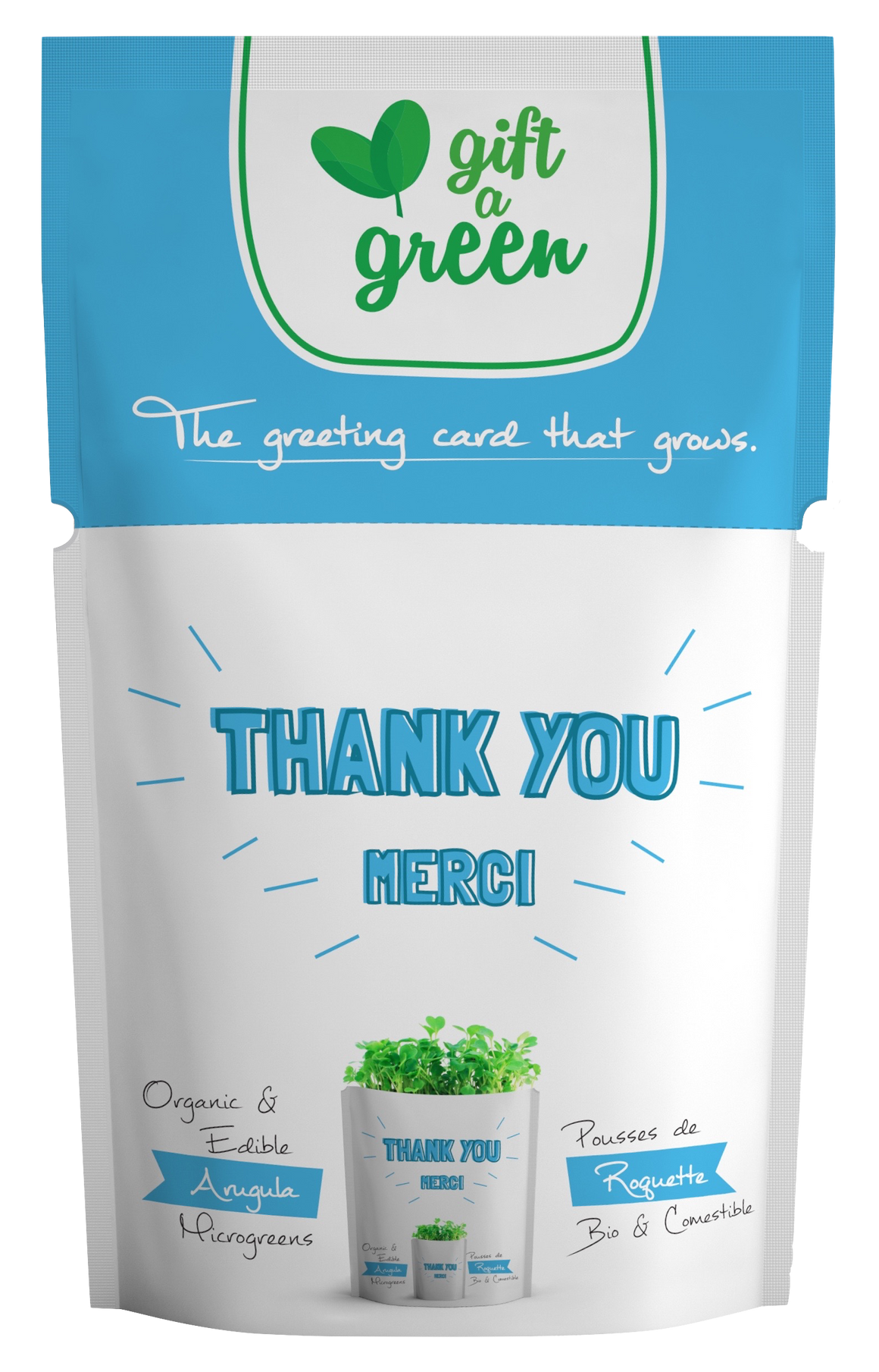 Microgreens Collection | Thank You | Arugula Microgreens - Gift-a-Green