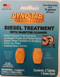 Dyno-tab® Diesel Treatment with Injector Cleaner 2-tab Case of 48 cards