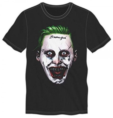 Suicide Squad Creepy Joker T Shirt (Medium)