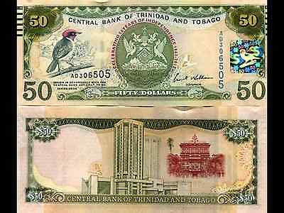 Trinidad and Tobago, 50 dollars, 2006 (2012), P-NEW, UNC > Commemorative.