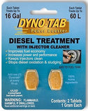 Dyno-tab® Diesel Treatment with Injector Cleaner 2-tab Card