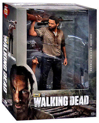Mcfarlane THE WALKING DEAD TV Series 10-Inch RICK GRIMES Deluxe Action Figure