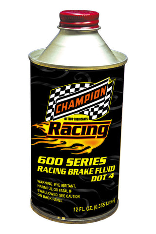 Champion 600 Series Racing Brake Fluid DOT 4