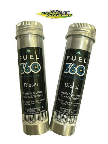 Fuel 360 Diesel Treatment Tablets Tube of 10 Tablets (Authorized Dealer)
