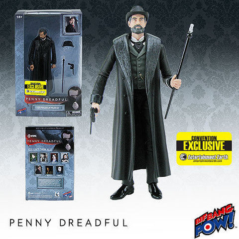 Bif Bang Pow Penny Dreadful Sir Malcolm Murray SDCC 2015 Figure New in Box