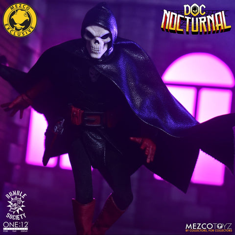MEZCO ONE:12 Collective Rumble Society – Doc Nocturnal