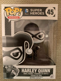 Funko POP! Black & White Harley Quinn DC comics Exclusive Black Friday #45
