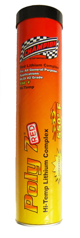 Champion Brands - Poly 7 Red Tacky High-Temp Gun Grease 14oz.