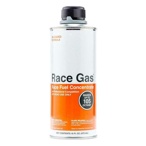 Race Gas 16oz Octane Booster 105 MAX 100016 Race Fuel Conc. (Authorized Dealer)