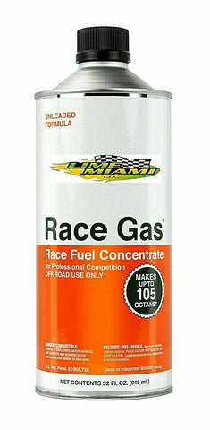 Race Gas 32oz Octane Booster 105 MAX 100032 Race Fuel Conc. (Authorized Dealer)