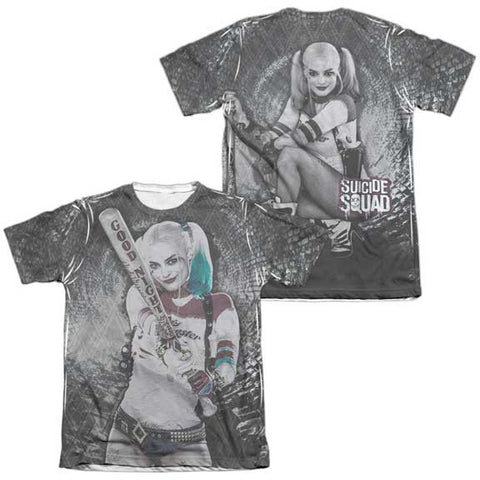 Suicide Squad Tunnel Vision (Front Back Print) Sublimation Shirt